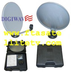13.5 Portable Satellite Dish