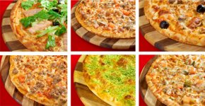 Italian Pizza on different