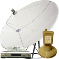 1-room C Band Satellite Dish System - FTA