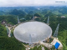 China Finishes Building World's Largest Radio Telescope