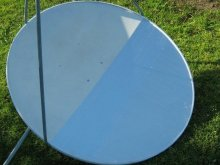 How to Turn Your Old Satellite Dish into an Outdoor Solar Cooker