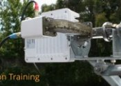 Satellite dish installation course