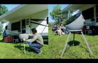 Portable HD Satellite dish