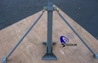 Satellite dish antenna mount