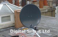 Satellite dish installation options